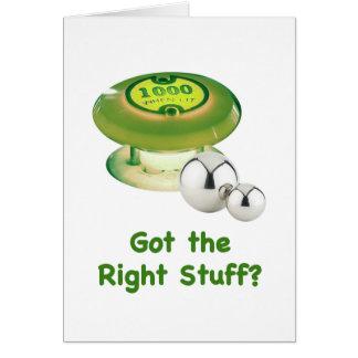 Pinball de Right Stuff Tarjeta Pequeña