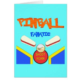 Pinball Fanatic Card