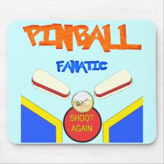 Pinball Fanatic Mouse Pad