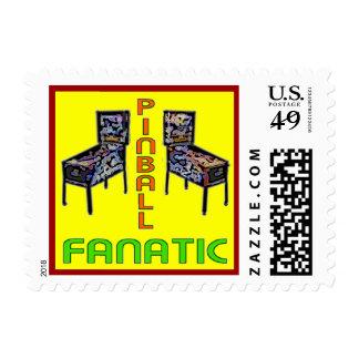 Pinball Fanatic Postage Stamp