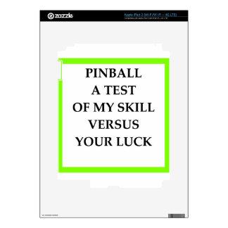 PINBALL iPad 3 SKIN