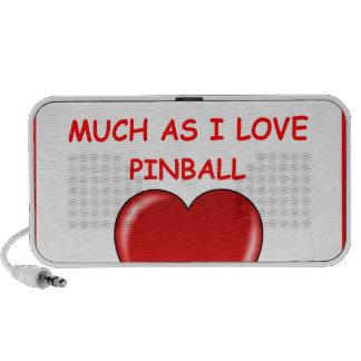 PINBALL iPod ALTAVOZ