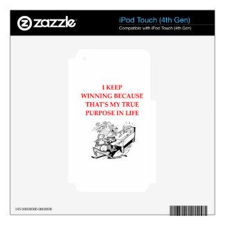 pinball iPod touch 4G calcomanías