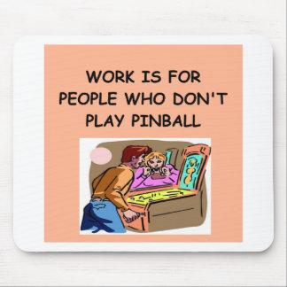 PINBALL joke Mousepads