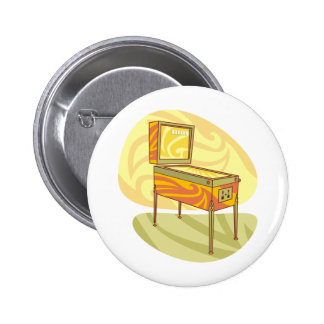 Pinball machine button