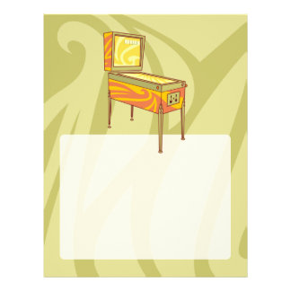 Pinball machine flyer