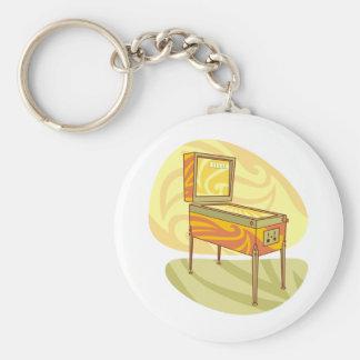 Pinball machine keychain