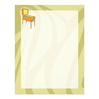 Pinball machine letterhead
