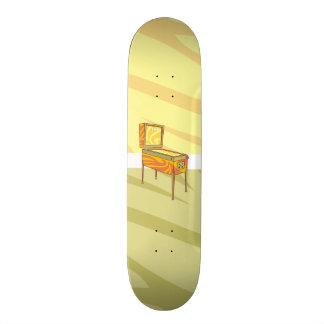 Pinball machine skateboard