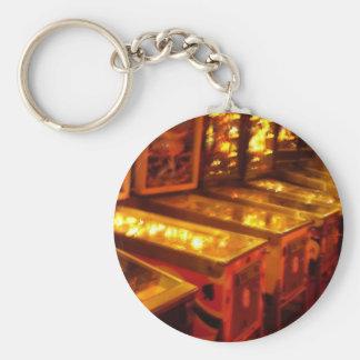 Pinball Machines Keychain