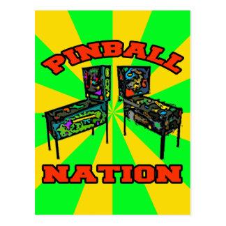 Pinball Nation Postcard