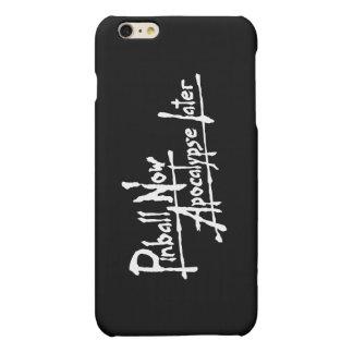 Pinball Now Apocalypse Later Matte iPhone 6 Plus Case