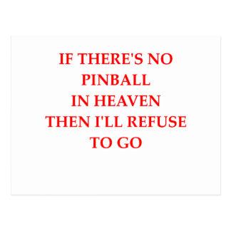pinball postal