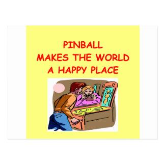 pinball postales