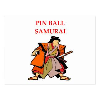 PINBALL POSTCARD