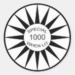 Pinball Special When Lit Sticker