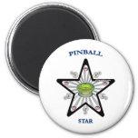Pinball Star 1000 Fridge Magnet