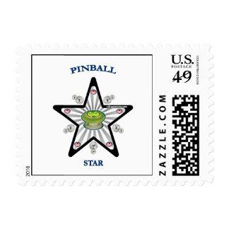 Pinball Star 1000 Stamp