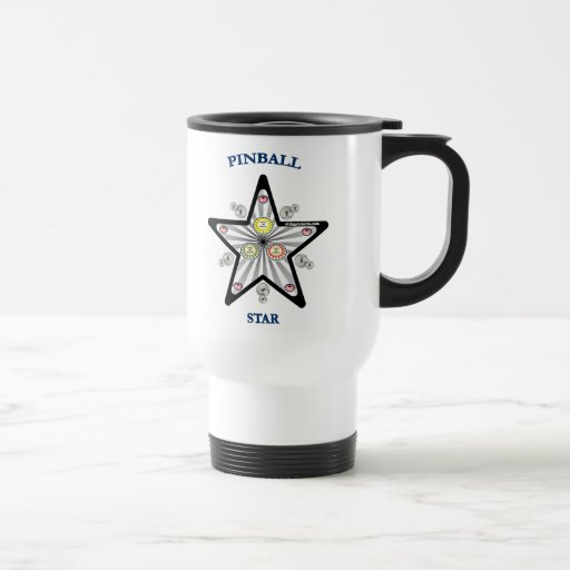 Pinball Star Travel Mug