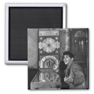 Pinball Wizard: 1940s Fridge Magnet
