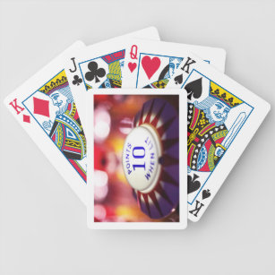 Pinball wizard bicycle playing cards