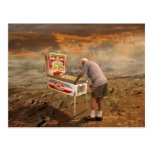 Pinball Wizard Postcard