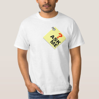 Pinboard Add Text Ask Me T-Shirt