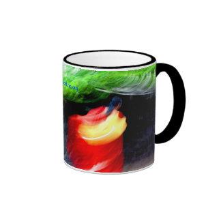 Pinceladas Ringer Coffee Mug