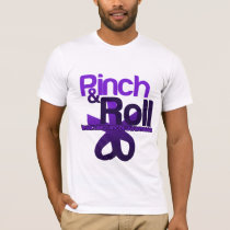 Pinch and Roll for Testicular Cancer Awareness T-Shirt