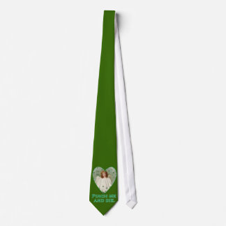 Pinch Me and Die Funny St. Patricks Day Design Tie