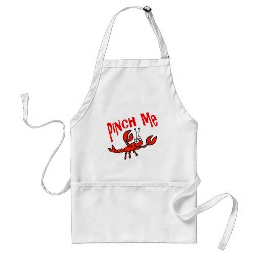 Pinch Me Crawfish Crayfish Cartoon Apron