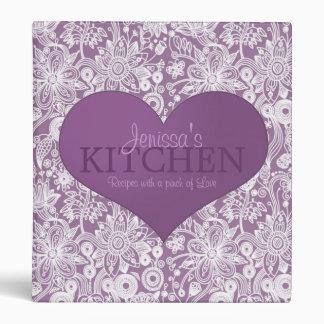 Pinch of Love 1 Inch Recipe Binder