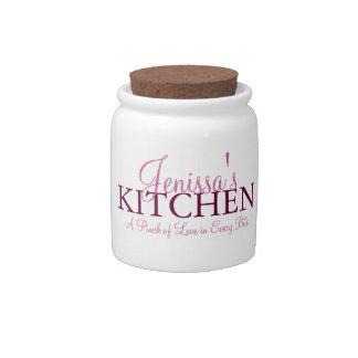 Pinch of Love Kitchen Jar Candy Jar