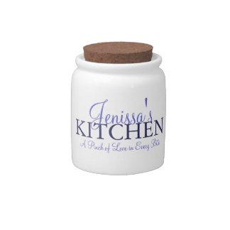 Pinch of Love Kitchen Jar Candy Jars