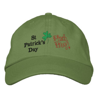 Pinch Proof St Patrick's Day Adjustable Cap