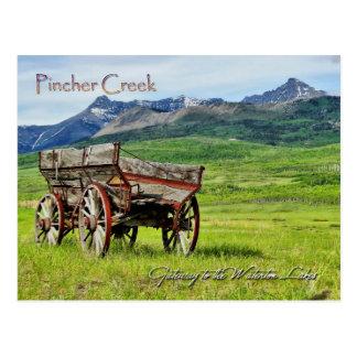 Pincher Creek Post Card
