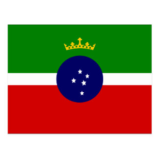 Pindamonhangaba Saopaulo Brasil, Brazil flag Postcard