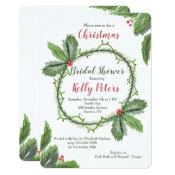 Pine and Berries Invitation