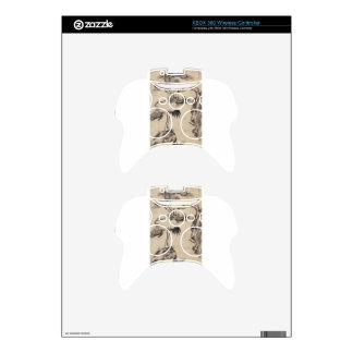 Pine and Cranes by Bada Shanren Xbox 360 Controller Skins