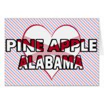 Pine Apple, Alabama Card