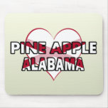 Pine Apple, Alabama Mouse Pads