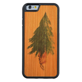 Pine Away Carved Cherry iPhone 6 Bumper Case
