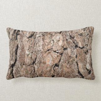 Pine bark background pillow