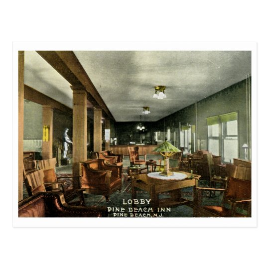 Pine Beach Inn, NJ 1911 Vintage Postcard
