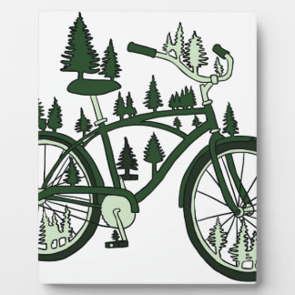 Pine Bike Plaque