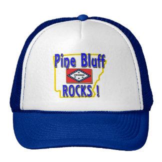 Pine Bluff Rocks ! (blue) Trucker Hat