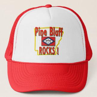 Pine Bluff Rocks ! (red) Trucker Hat