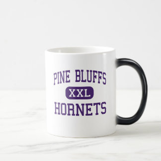Pine Bluffs - Hornets - High - Pine Bluffs Wyoming 11 Oz Magic Heat Color-Changing Coffee Mug