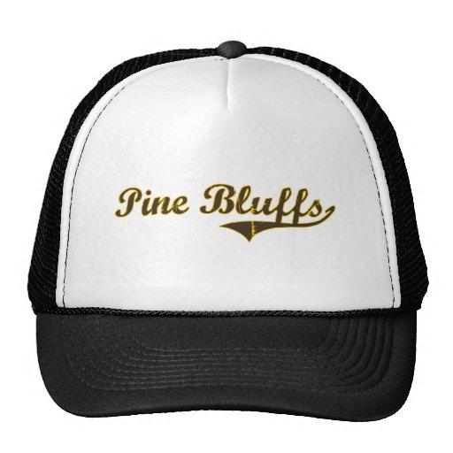 Pine Bluffs Wyoming Classic Design Trucker Hats