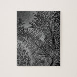Pine Boughs Infrared Jigsaw Puzzle